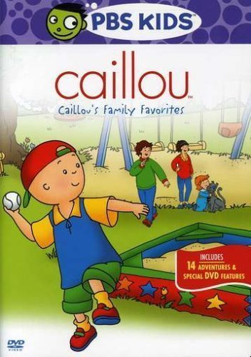 Caillou - Caillou's Family Favorites Dvd