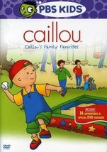 Caillou - Caillou's Family Favorites Dvd - $8.99