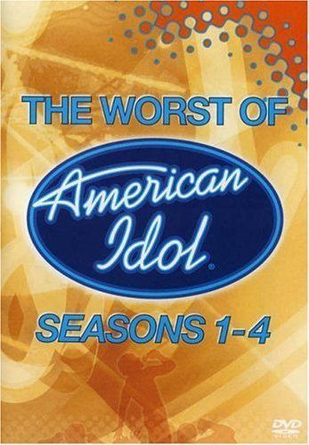 American Idol - The Worst of Seasons 1-4 Dvd