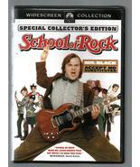 JACK BLACK  * SCHOOL OF ROCK * SPECIAL COLLECTOR'S EDITION ~ WIDESCREEN ... - $3.00
