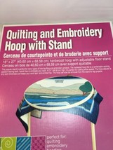 Quilting And Embroidery Wood Hoop & Floor Stand - 5590 OS1 - $40.19