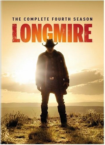 Longmire: The Complete Fourth Season 4 (DVD Set) TV Western Series New