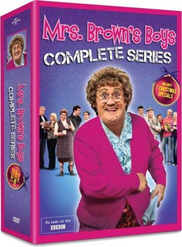 Mrs. Brown's Boys Complete Series (DVD Box Set) New TV Comedy Series