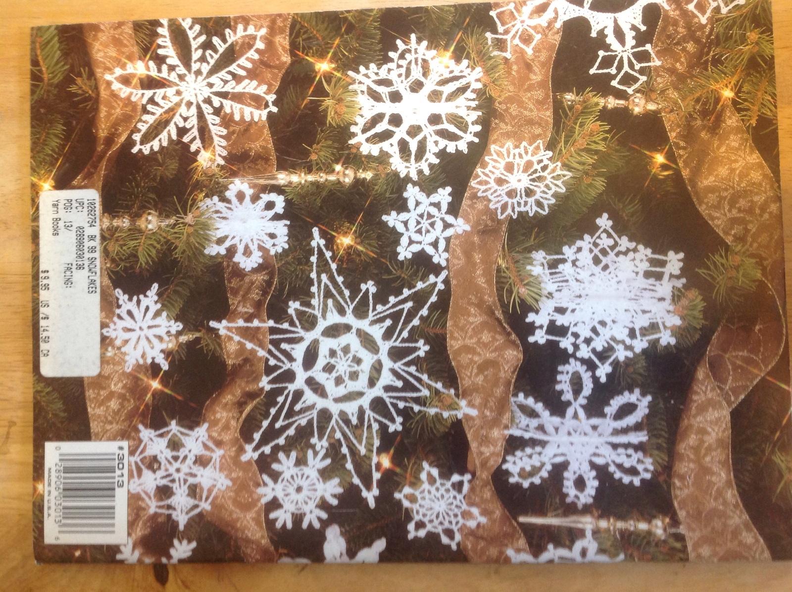 99 snowflakes leisure arts 3013