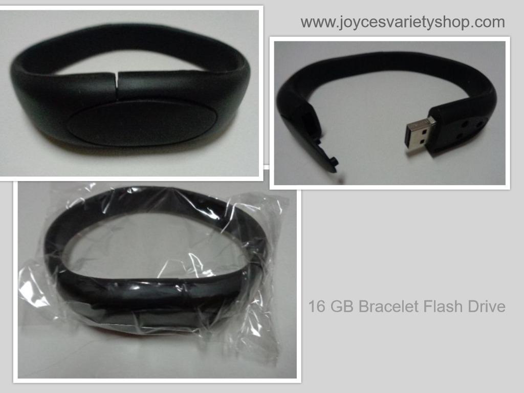 Black 16gb bracelet collage