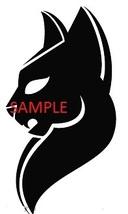 BLACK CAT HEAD CROSS STITCH CHART - $10.00
