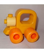 Vintage Train Engine Baby Rattle Wee Wheels Playskool 1984 3 Month 2 Yea... - $9.46