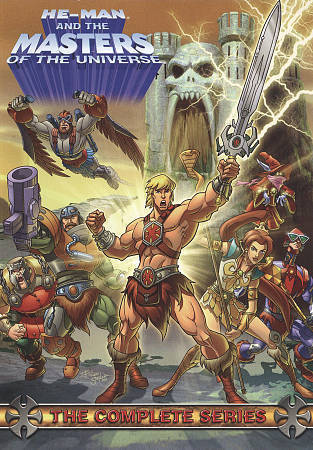 He-Man and the Masters of the Universe: Complete Series (DVD Set) New TV Show