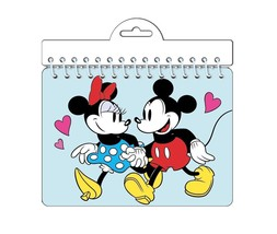Disney Minnie & Mickey Mouse Classic 'Holding hands' Autograph Notebook - $4.49