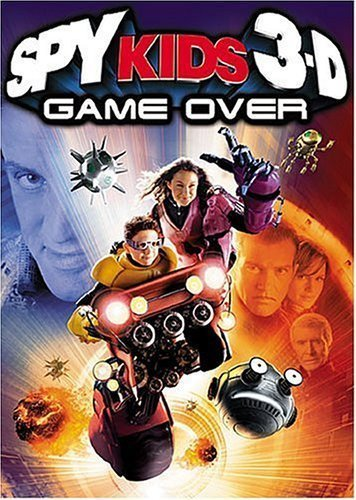 Spy Kids 3-D Game Over  Dvd