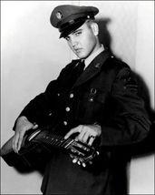 Elvis Presley Army O3D Vintage 11X14 BW Music Memorabilia Photo - $13.95