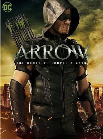 Arrow: The Complete Fourth Season 4 (DVD, 2016, 5-Disc Set) TV Series New
