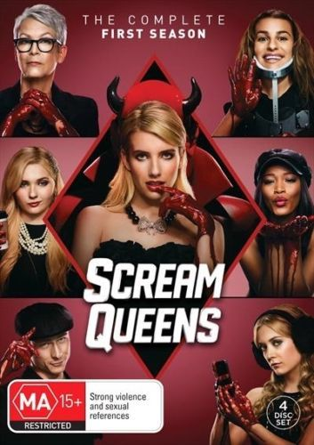 Scream Queens The Complete First Season 1 (DVD Set) New TV Series