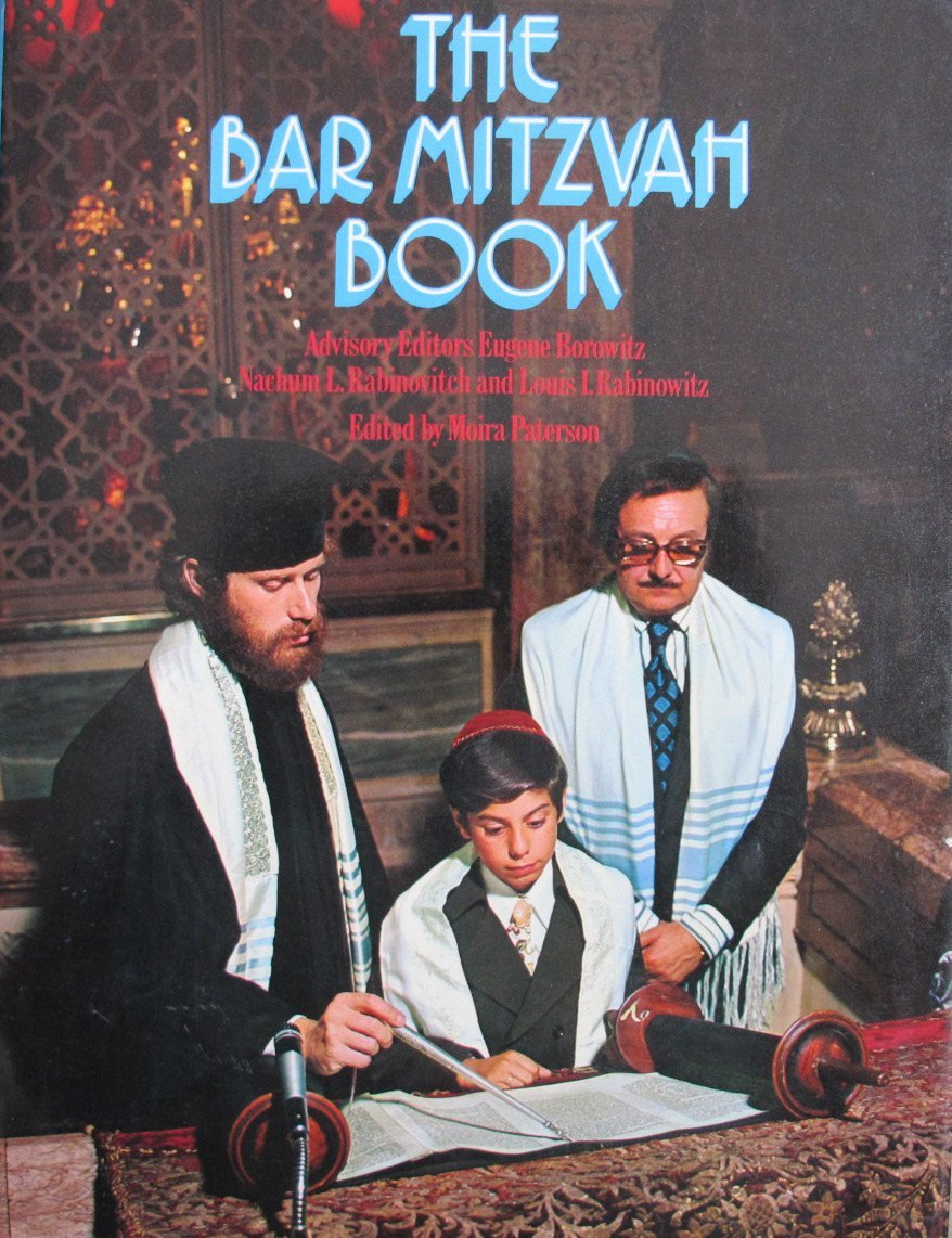 The bar Mitzvah Book by Paterson, Moira