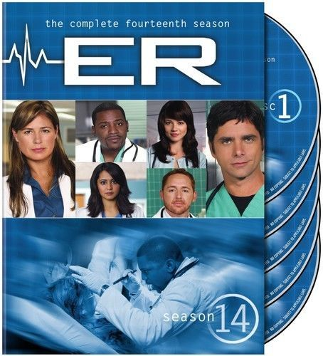 ER: The Complete Fourteenth Season 14 (DVD Box Set) TV Series New