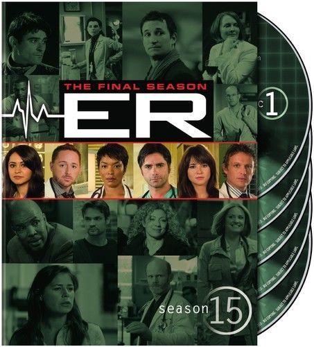 ER: The Final Fifteenth Season 15 (DVD Box Set) TV Series New