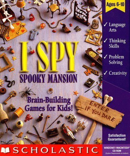 I Spy Spooky Mansion [CD-ROM] Mac / Windows 98 / Windows Me / Windows 95