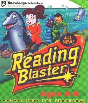 Reading Blaster Ages 4-6 Lab Pack CD-ROM Windows 98