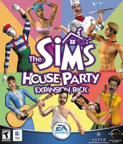 The Sims House Party Expansion Pack ( Mac ) by Aspyr