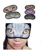 Cute Animal Sleeping Eye Mask Blindfold Relax S... - $1.99