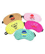 Cute Eye Sleeping Rest Travel Sleep Mask Soft C... - $1.99