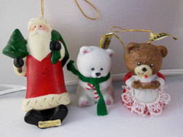 Christmas Bell Ornaments Handpainted Porcelain ... - $9.25