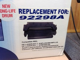 NEW HP Toner Cartridge and Drum Replacement Mod.N 92298A image 2