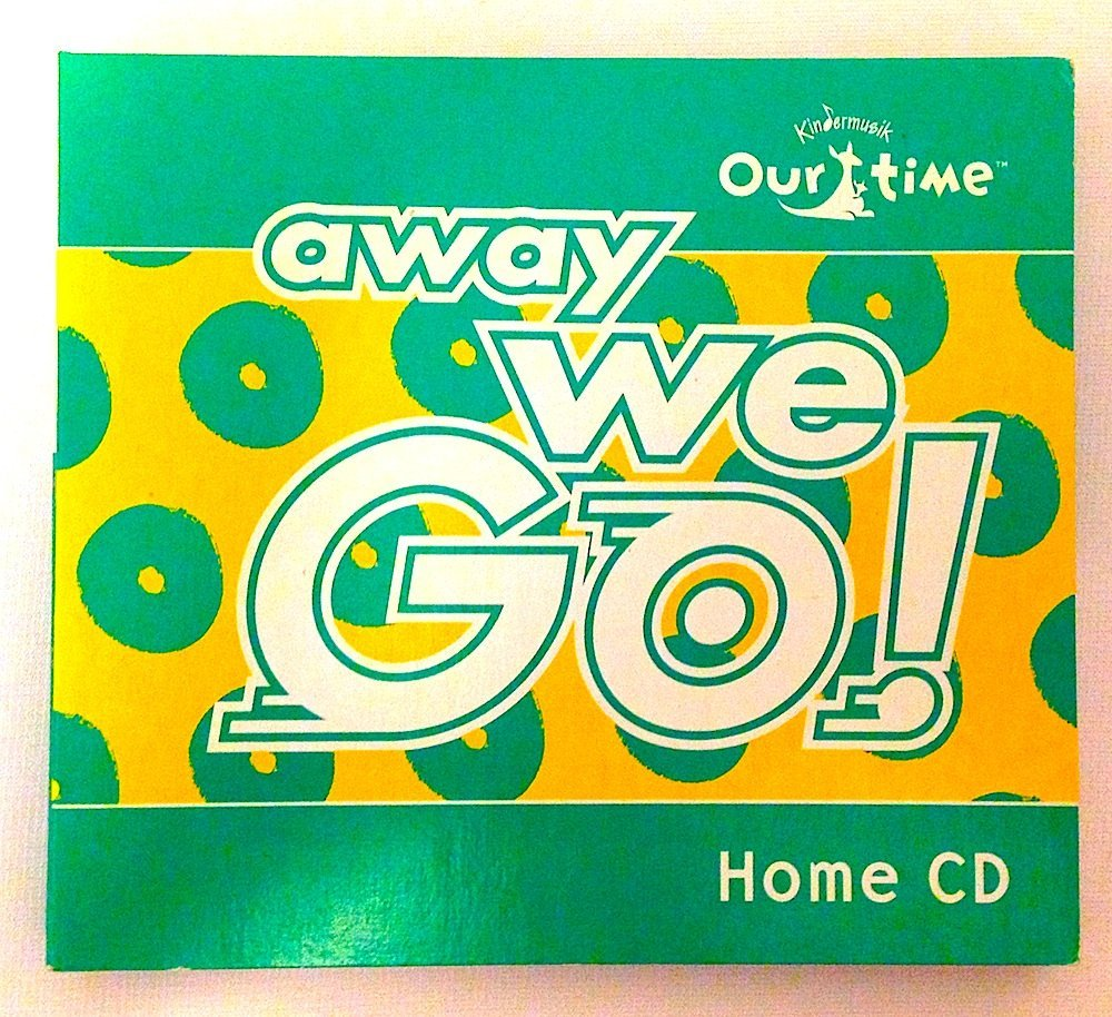 Away We Go! 2 Home Set with 56 Songs by Kindermusic Cd