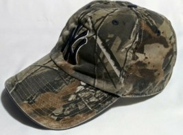 NEW YORK YANKEES CAMOUFLAGE FITTED HAT MEN'S MEDIUM MADE BY THE FRANCHISE - $15.00