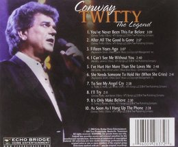 The Legend, Vol. 2 By  Twitty, Conway Cd image 2