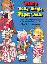 More Dolly Dingle Paper Dolls by Frace G Drayton Unpunched 1979 Free US S/H - $12.01