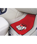 University of Georgia Car Mats 2 Piece Front, Red Background, Fan Mats - $30.00