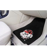 University of Georgia Car Mats 2 Piece Front,Black Background, Fan Mats - $30.00