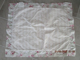 Quilted Simply Shabby Chic Standard Pillow Sham... - $19.98