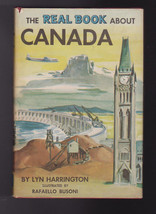 The Real Book About Canada HC DJ Garden City Books Lyn Harrington - $12.03