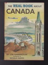 The Real Book About Canada HC DJ Garden City Books Lyn Harrington - $12.03