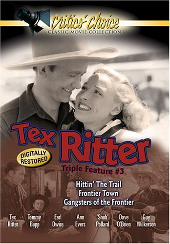 Tex Ritter Triple Feature #3 Dvd