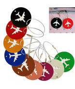 Metal Funky Travel Luggage Label Straps Suitcas... - $1.99
