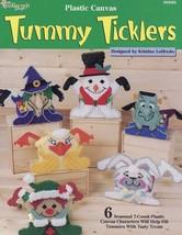 Tummy Ticklers Treat Holders Plastic Canvas Pattern Easter Halloween Chr... - $1.77