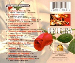 Candlelight Romance -  Various Artists Cd image 2