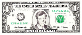 ROBERT F KENNEDY on a REAL Dollar Bill Cash Money Collectible Memorabili... - $7.77