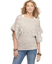 Jessica Simpson Women's Boat Neck Sweater Dark Purple X-Large - ₨2,248.19 INR