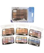 L.A. Colors Expressions, 12 Color Eyeshadow, BEP422 Glamorous, 0.49 Oz - $3.99