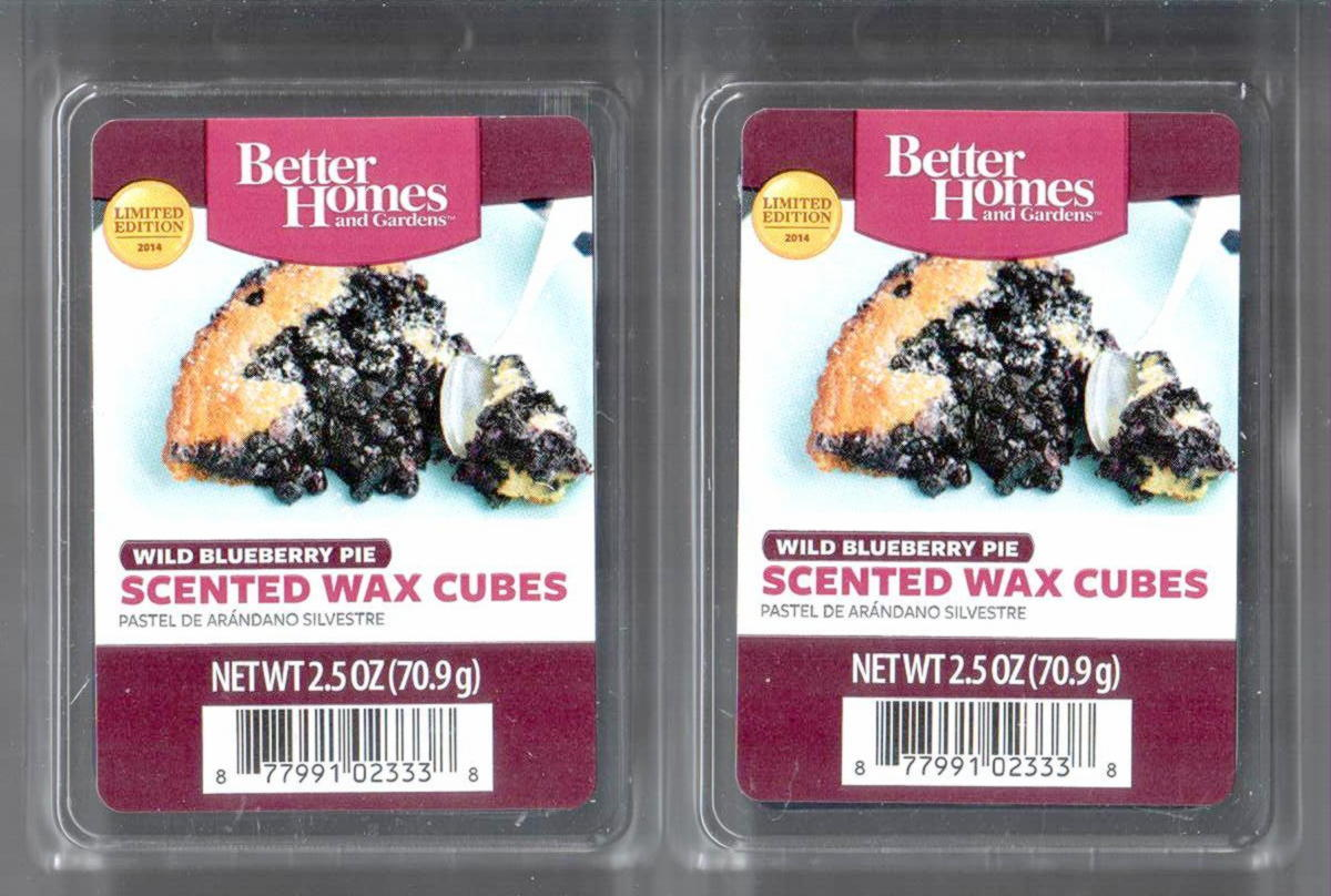 Wild blueberry pie better homes and gardens scented wax - Better homes and gardens scented wax cubes ...