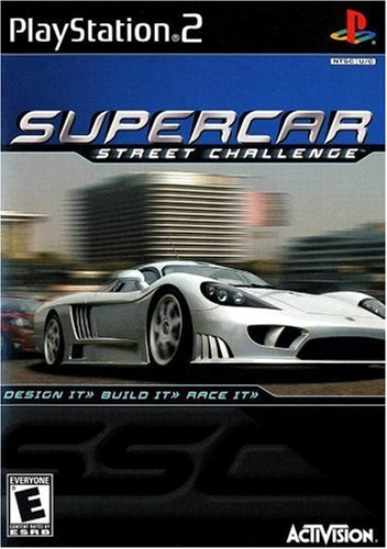 Supercar Street Challenge PlayStation2