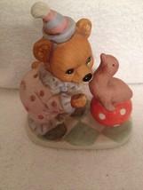 Homco birthday bear circus  with seal #8881 - $5.89