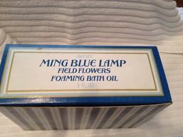 Avon Ming blue lamp Field Flowers foaming bath oil - $5.90