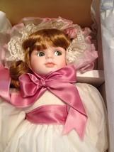 Seymour Mann Connoisseur Collection Porcelian Doll Megan - $23.36