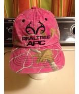 Pink Camo Camouflage Realtree Apc Baseball Hat Ball Cap Strapback Bone C... - $9.49