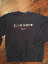 EDDIE BAUER NAVY BLUE SWEATSHIRT M - $13.99